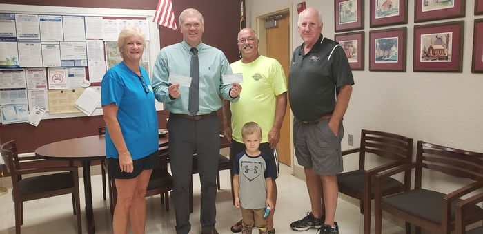 Thank you to the Millstadt Optimist Club for their $6000 donation for MCS and MPC from proceeds at the Millstadt Wine Tasting event.