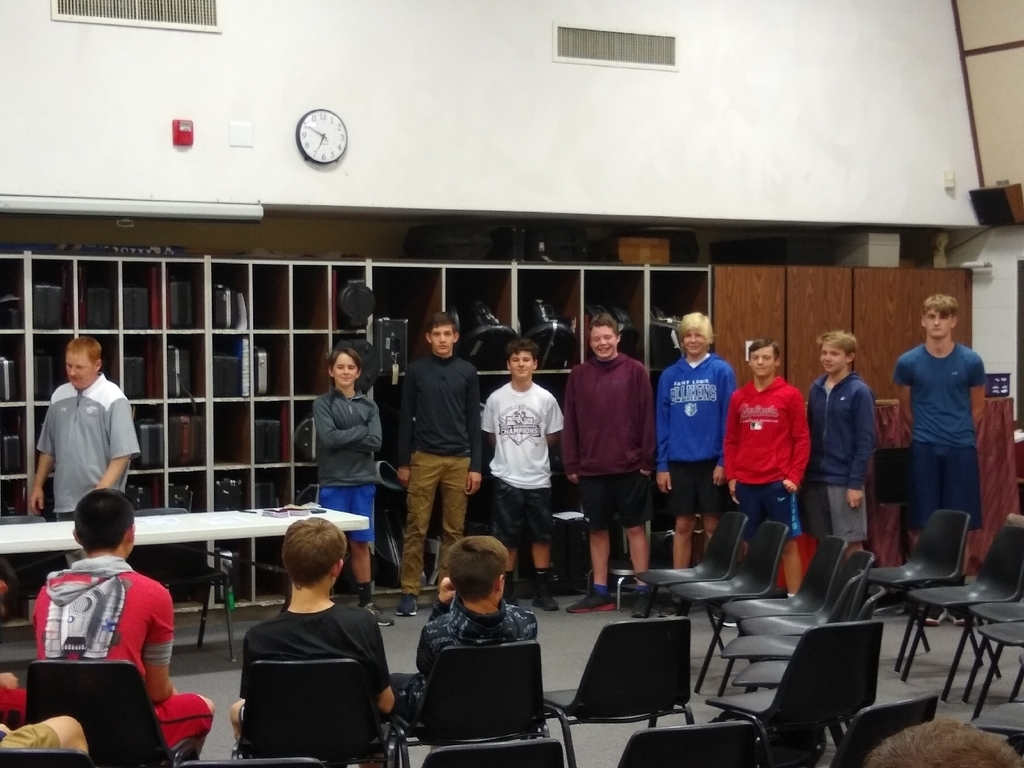 Athletic Awards-8th Grade Boys
